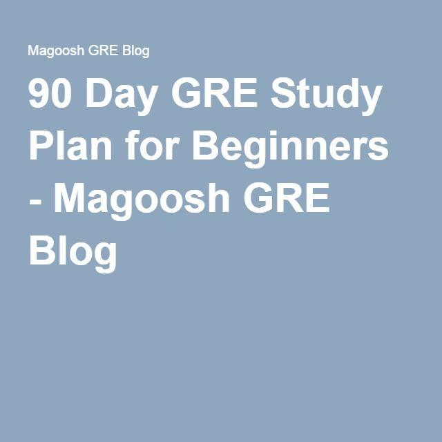 how to write a graduate study plan