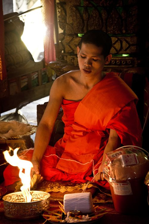 Laos - Buddhist Monk
