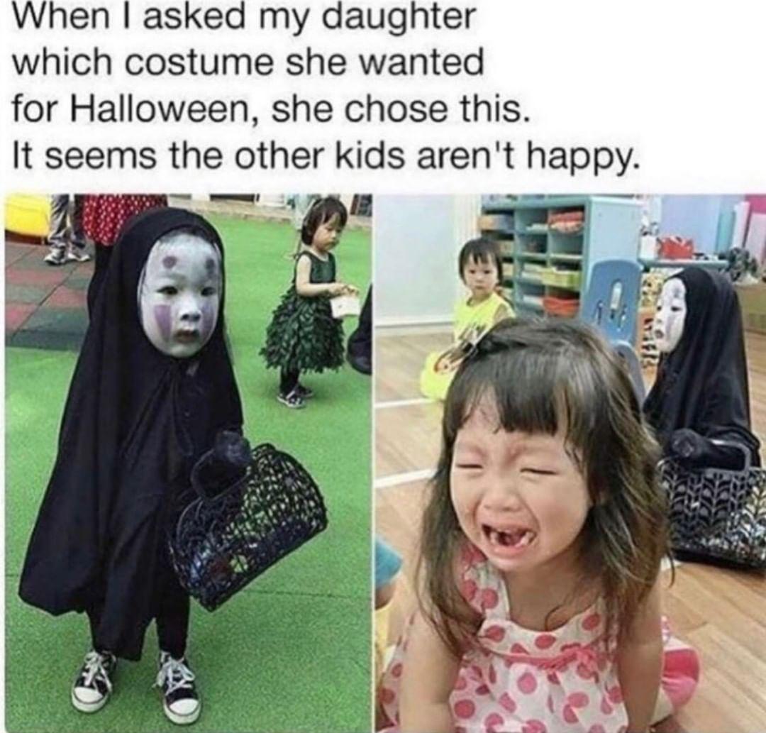 She wins Halloween. (via Facebook) | Funny halloween memes ...