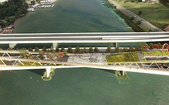 Design Firms OMA and OLIN Collaborate on a Garden Bridge in Washington, D.C.