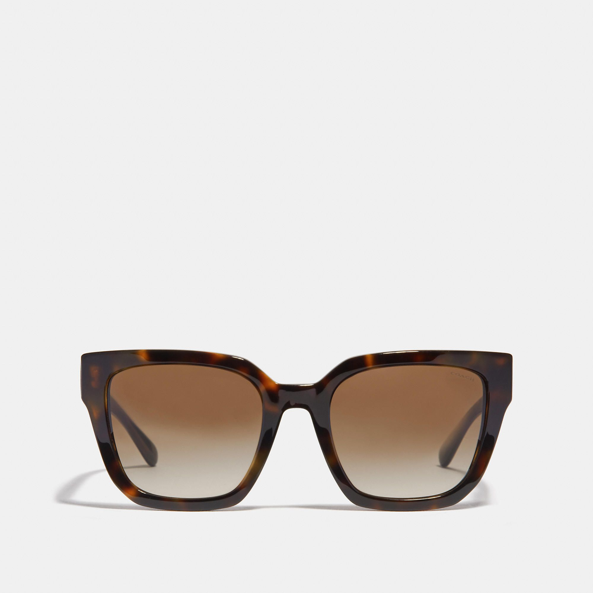 0fd6467490751 COACH Horse And Carriagre Hologram Square Sunglasses - Women s Sunwear