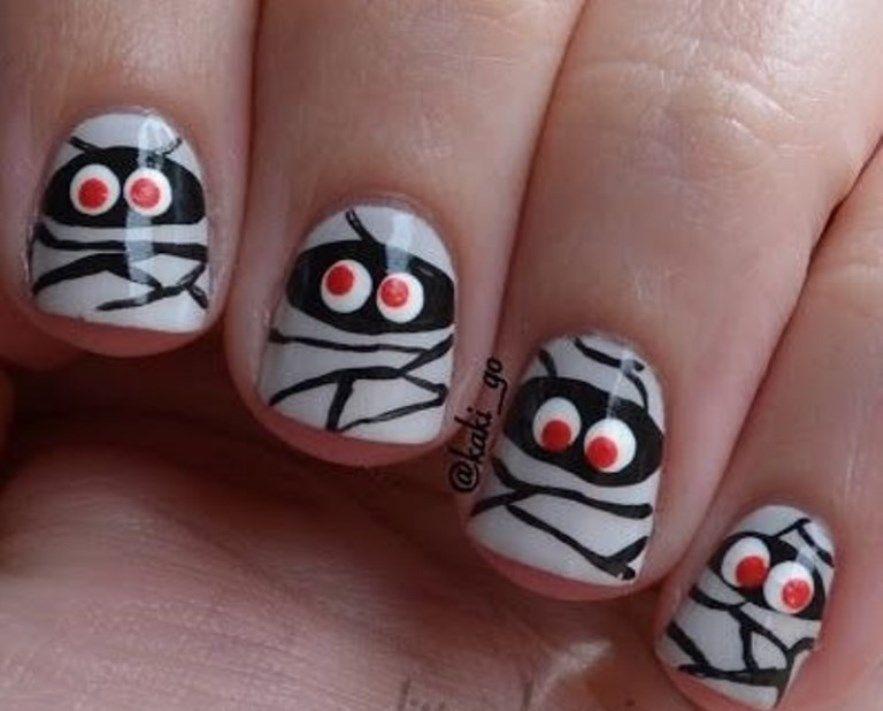 Halloween Nail Art for Kids   Ногти, Маникюр и Дизайн ногтей
