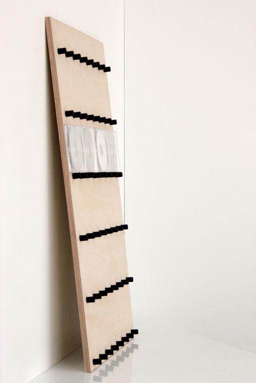 CDラック大容量おしゃれCDラック木製ロータイプ(CDを飾るCDディスプレイラックディスプレー展示見せる収納おしゃれデザインインテリア壁掛け)CD-08/マルゲリータ