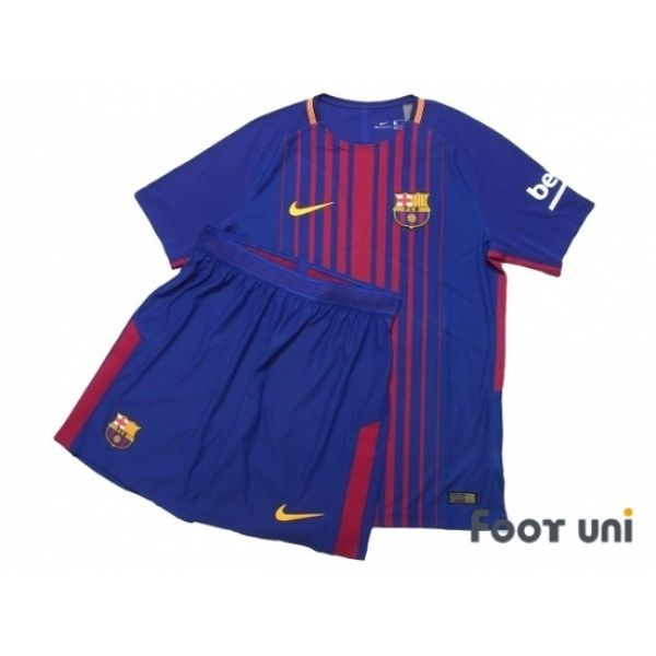 684db3d45 FC Barcelona 2017-2018 Home Authentic Shirt and Shorts Set w tags   fcbarcelona