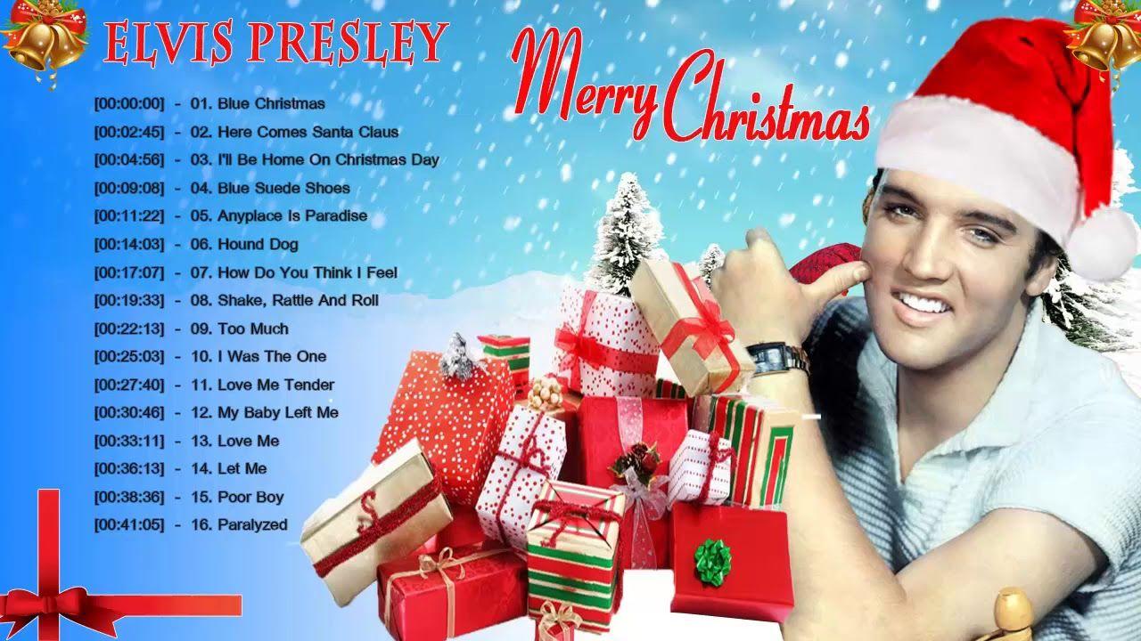 Elvis Presley Christmas Songs Full Album || The Classic Christmas ...
