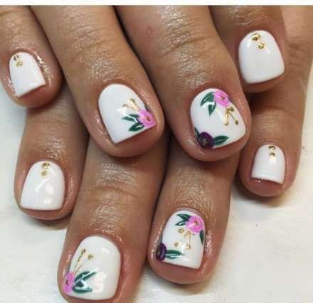spring manicure shellac products 63 ideas  floral nails