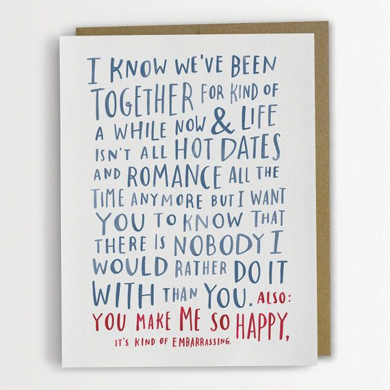 Featured Shop Emily McDowell – Valentine Anniversary Cards