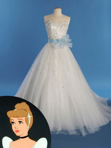 Guess Who Inspired These Wedding Gowns   Disney princess weddings ...
