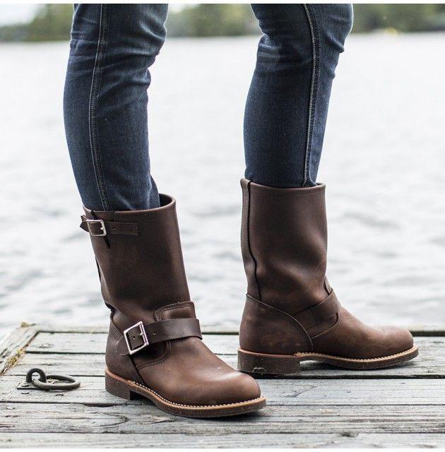 Redwing's 2991 Classic Engineer Boot - Footwear - Women's