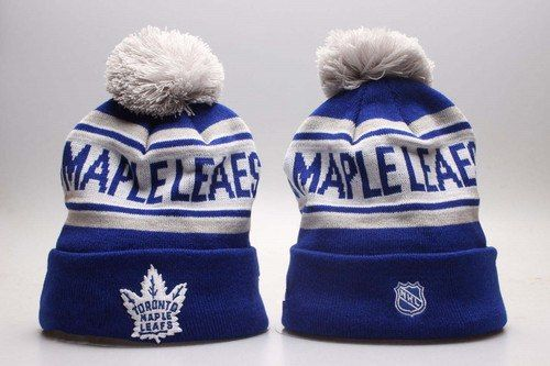 Toronto Maple Leafs Winter Outdoor Sports Warm Knit Beanie Hat Pom ... df0760a2a75