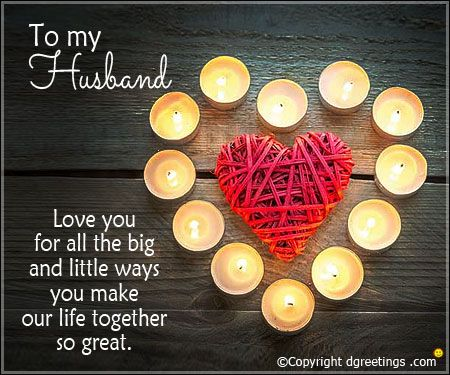 Make Your Husband Feel Loved By Sending Him These Cards Love