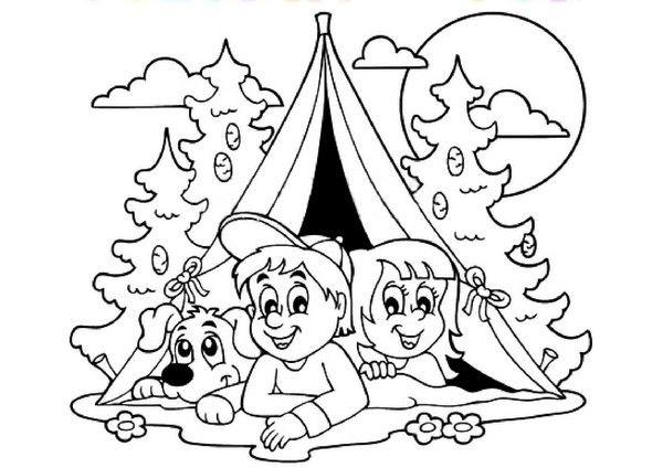 Erfreut Scout Camping Malvorlagen Galerie - Beispiel Wiederaufnahme ...