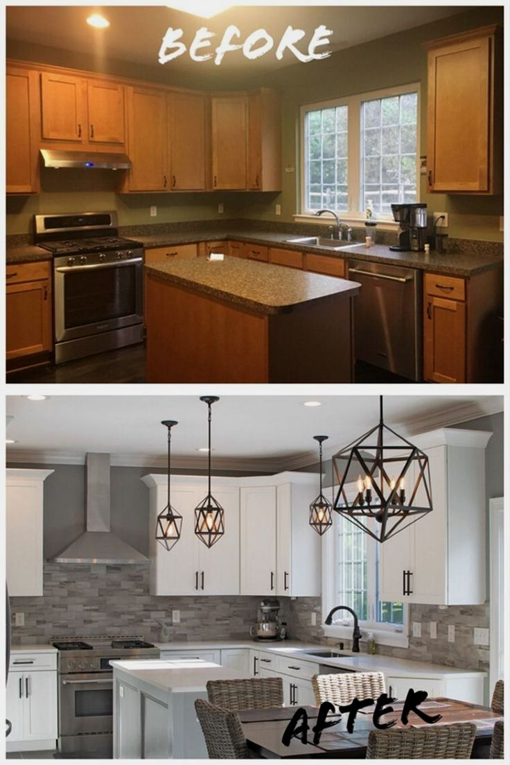 Kitchen remodel ideas with before and after picture images