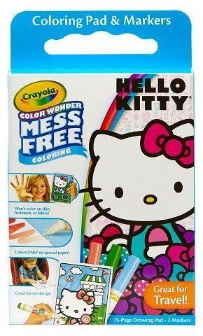 Crayola Color Wonder Coloring Kit - Hello Kitty   Hello ...