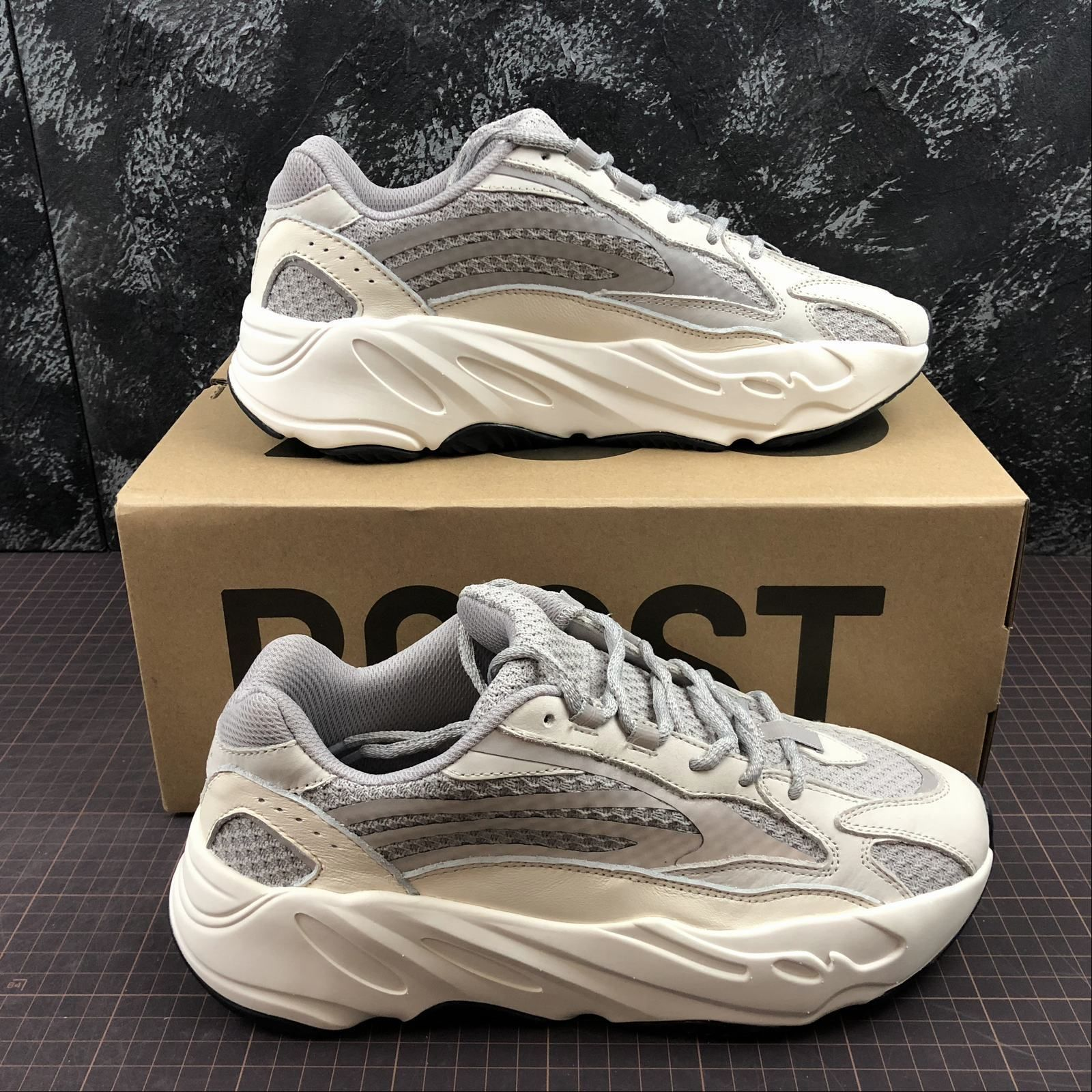 a6a82a98485e7 Adidas Yeezy 700 Wave Runner v2 Static  EF2829 in 2019