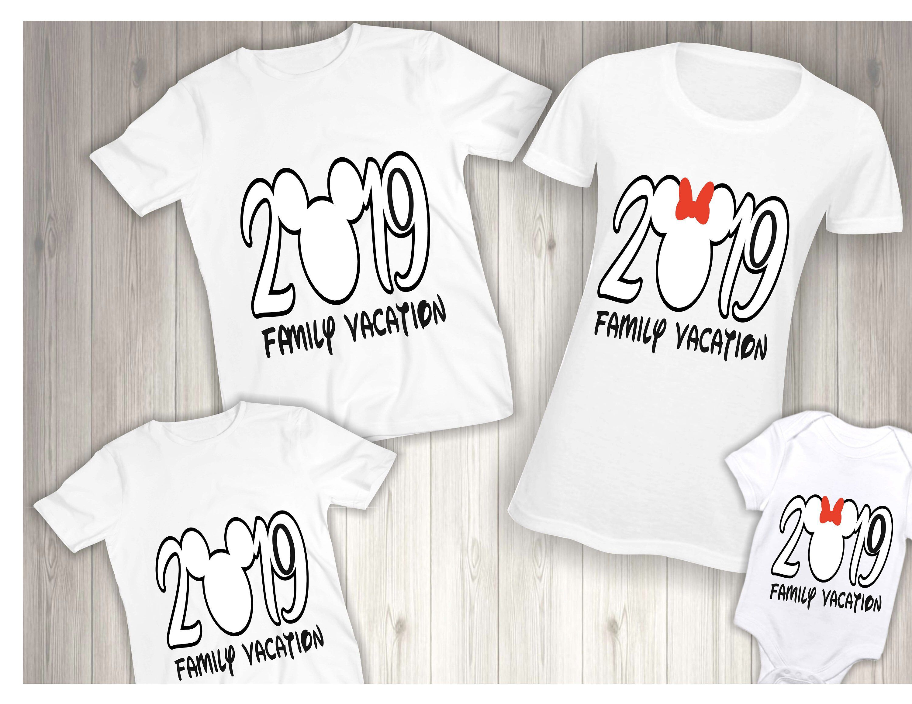 2019 Disney Family Shirts, Disney Matching Set Shirt ...