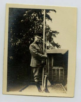 Army Officer at a Flagpole :: Mississippi Armed Forces Museum