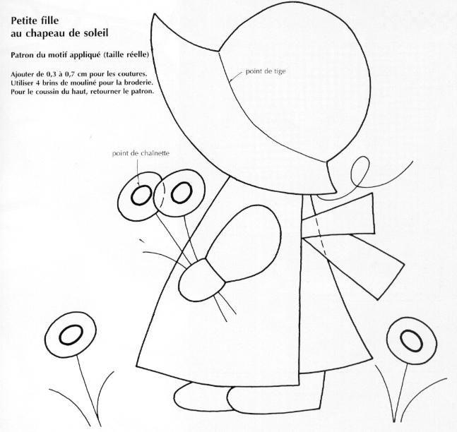 Pin de Ana Rodriguez Paredes en sunbonnet sue | Pinterest | Patrones ...