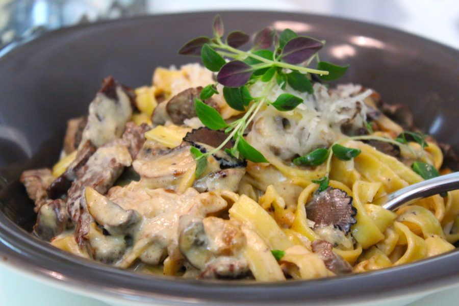 pasta med tryffel recept
