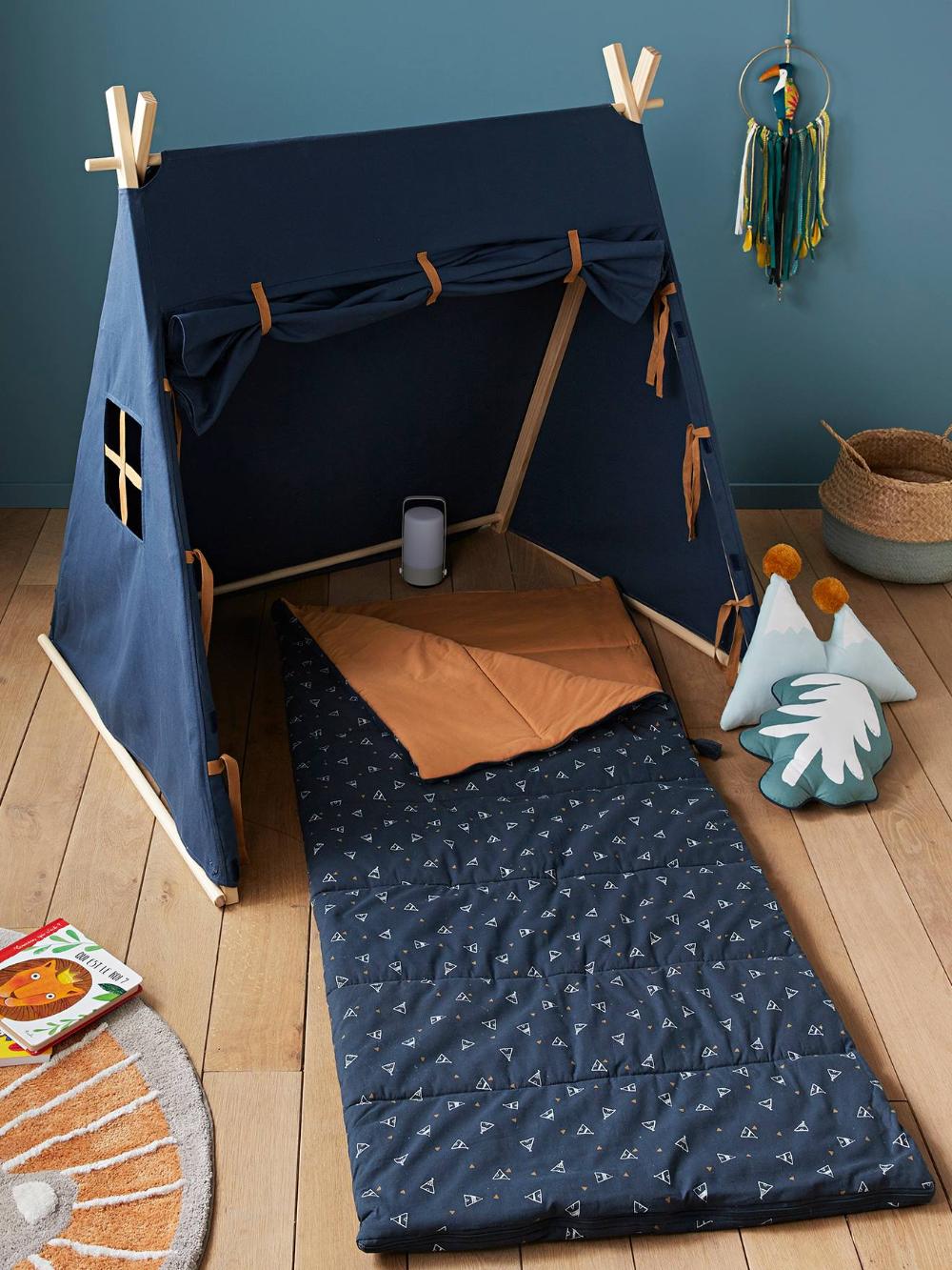 Tente de jeu Trappeur bleu nuit – Vertbaudet
