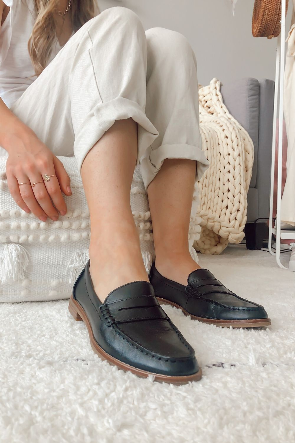 Penny loafers outfit