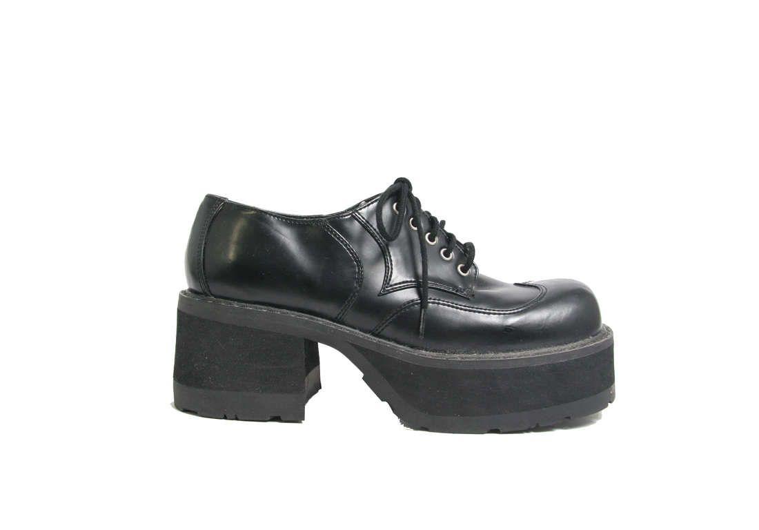 90s Does 70s Platform Shoes - Vegan