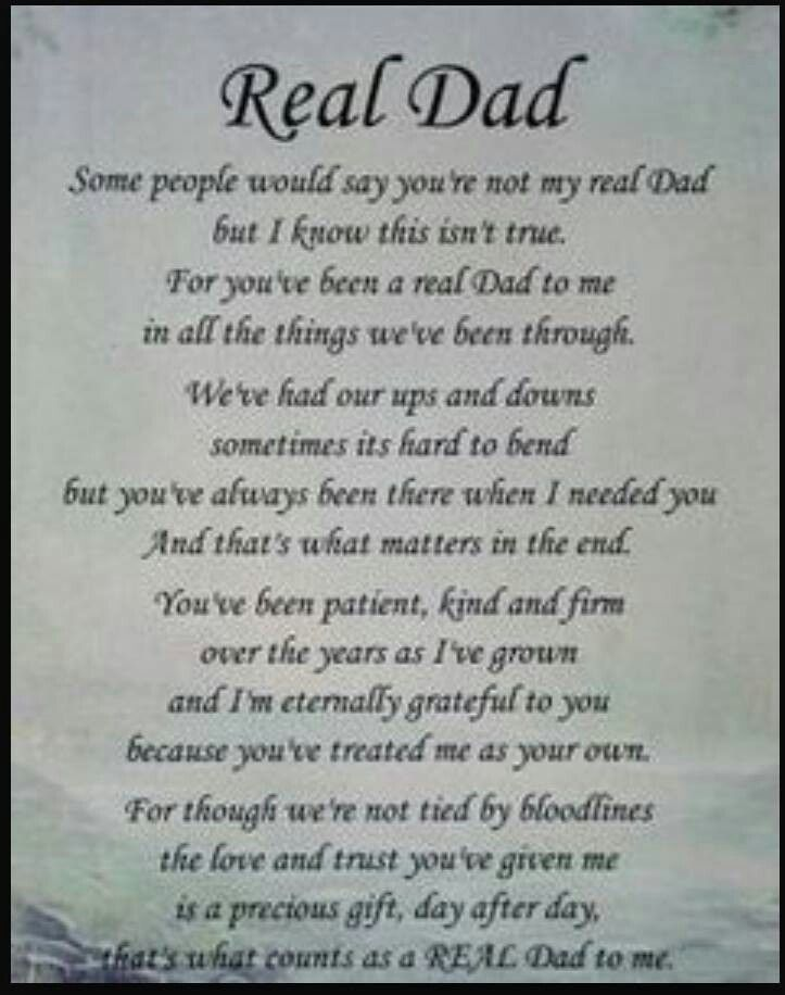 Real dad | Aww | Dad poems, Dad quotes from daughter, Dad quotes