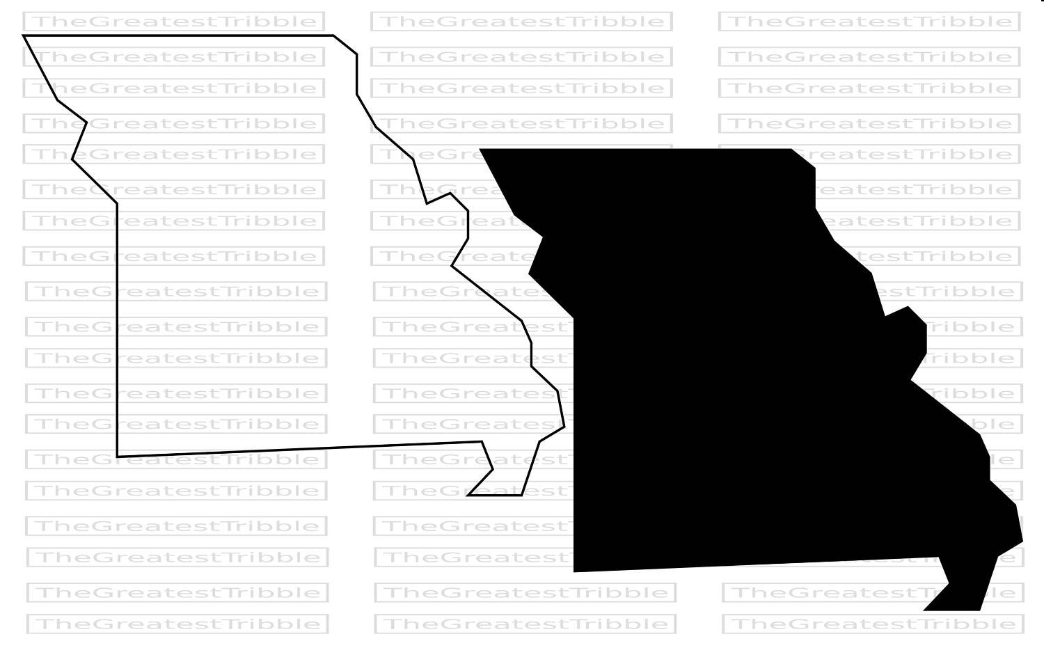 Missouri State Map Svg Png Jpg Eps Vector Graphic Clip Art Etsy Clip Art State Map Missouri State