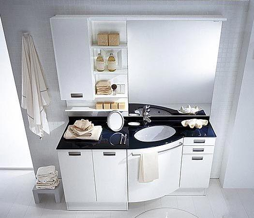 Mobile bagno con lavabo e lavatrice la scelta giusta - Mobile coprilavatrice con lavatoio ...