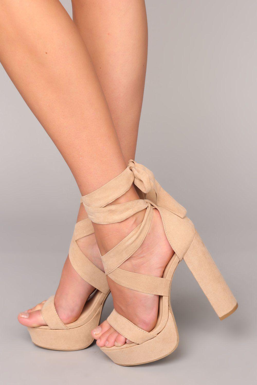 Plot Twist Heel - Natural | Fashion