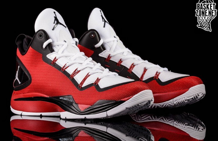 newest e9018 ad0a6 ... best price the nike red white black jordan super.fly ii po is being  released