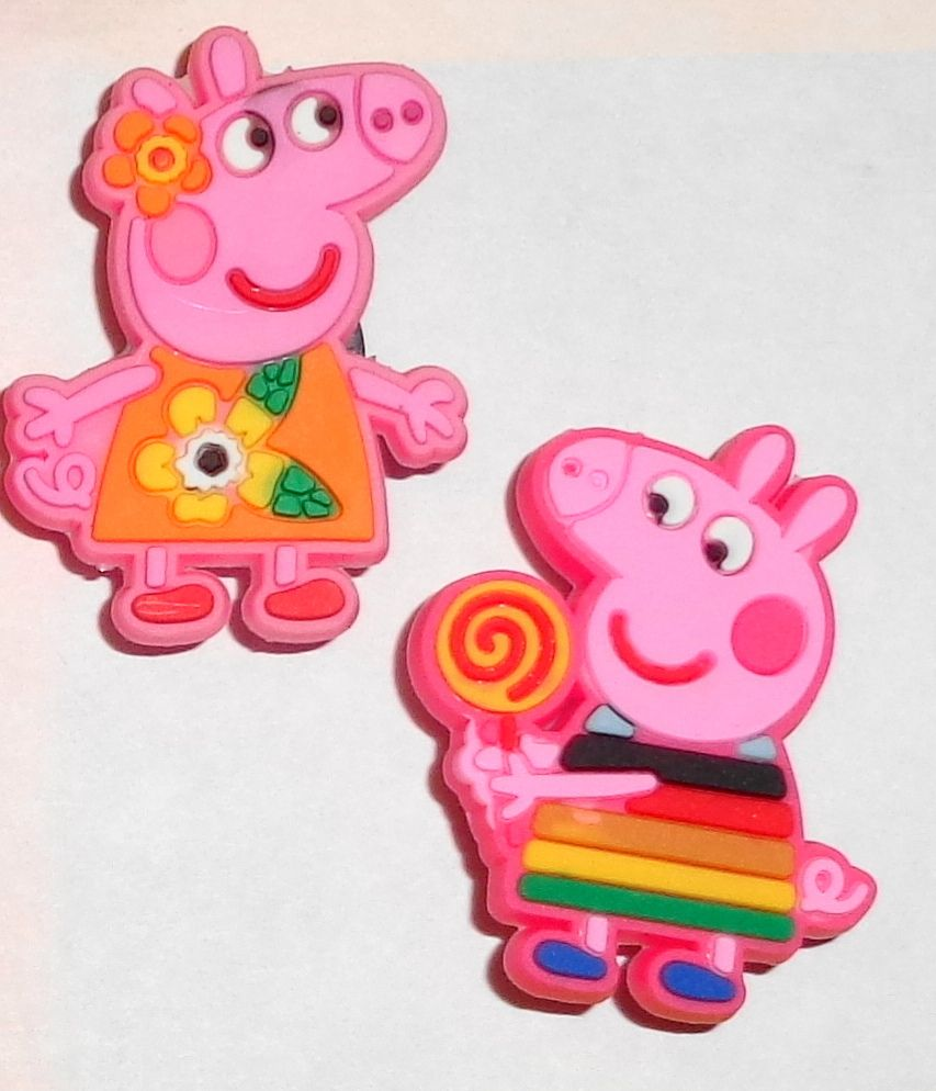Pig Shoe Charms Shoe Buttons Shoe Pins
