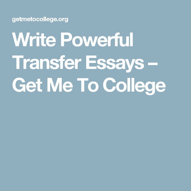 Accepted A College Student's Guide to Transferring (With