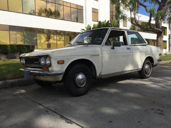 1971 2 Door Los Angeles CA in 2020 | Datsun, Datsun 510 ...