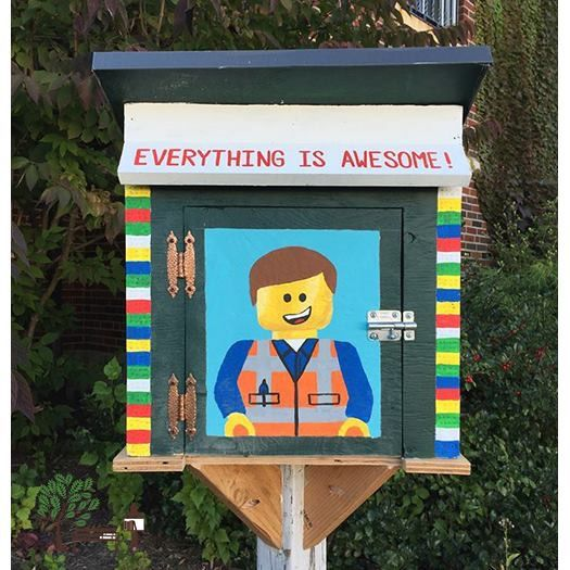 Pin By Genevieve Cottraux On Little Free Libraries Pinterest