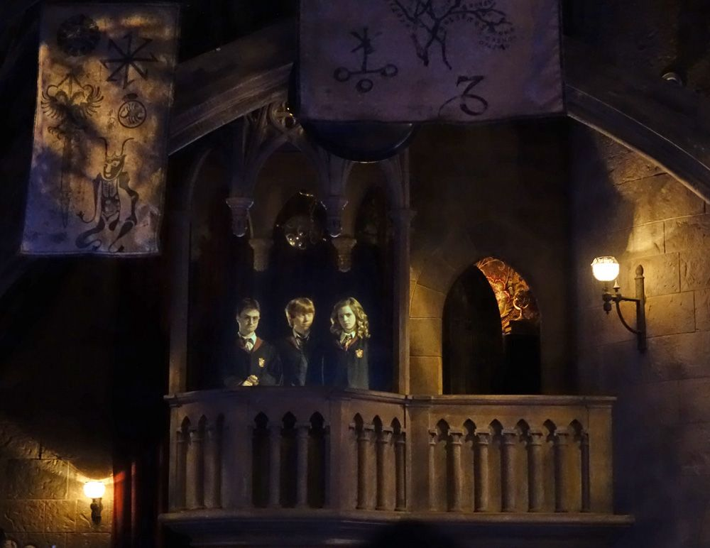 Harry Potter and the Forbidden Journey - One of the top Orlando thrill rides!
