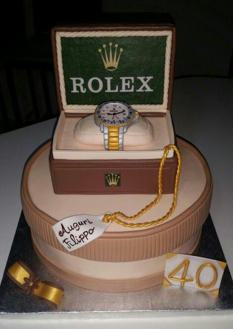 Rolex Cake Cake To Be Made Cake Birthday Cake Dad