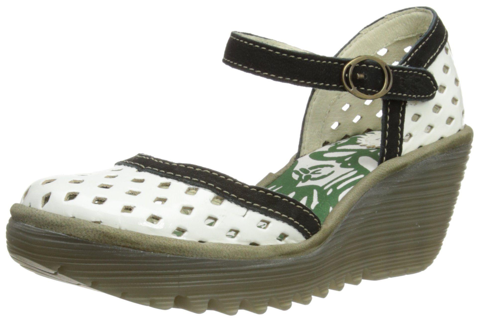 935f1d988e23b Fly London Women's Yana Perf Fashion Sandals: Amazon.co.uk: Shoes ...