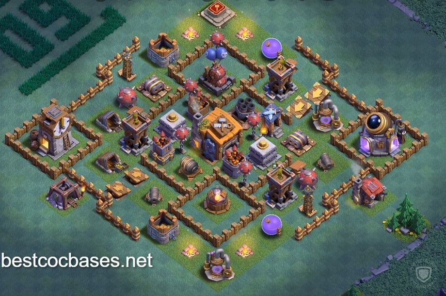 Builder Hall 7 Best Base Layout Builder Hall