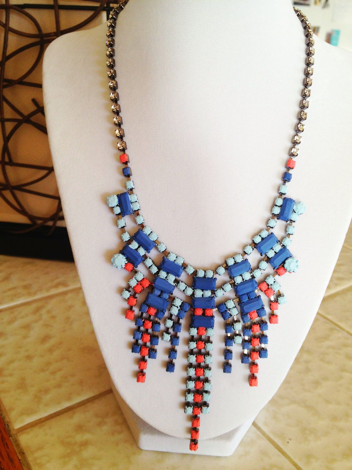 About Last Night Necklace. $97.00, via Etsy.