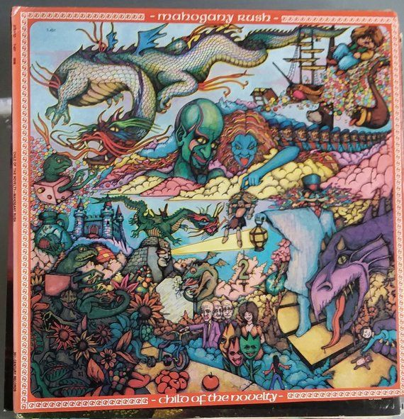 Mahogany Rush Child Of The Novelty Vintage Record Album Vinyl Lp Classic Rock And Roll Music Ca Avec Images Pochette Vinyle