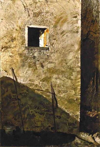 Andrew Wyeth-《 The Pikes 》