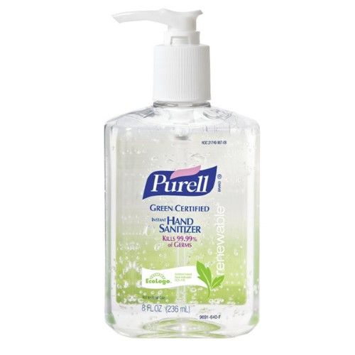 Purell 8 Oz Pump Bottle None 8 Oz 9691 12 Hand Sanitizer
