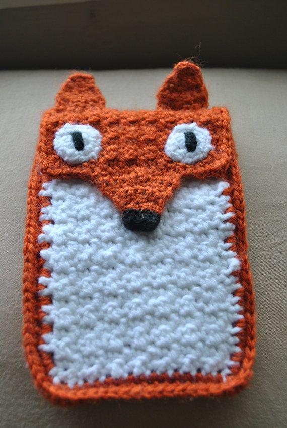 Roxy Fox Crocheted iPhone Cozy   Häkelideen, Handyhüllen und Häkeln