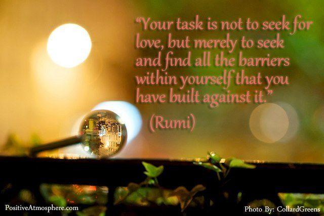 Barriers To Love Rumi Quotes Pinterest Poetry Quotes And Rumi