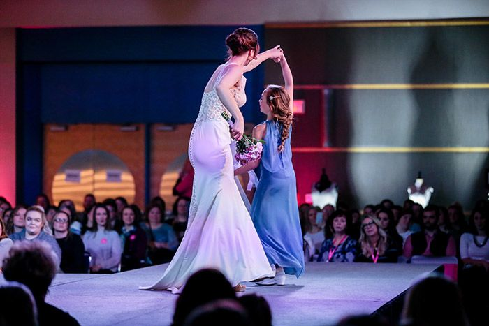 January Akron Bridal Show Fashion Gallery Flower girl
