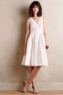 Collette Dinnigan Pleated Trellis Dress #anthrofave
