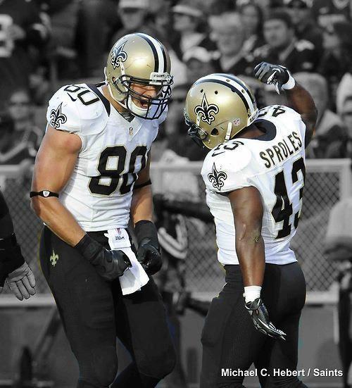 Jimmy Graham And Darren Sproles Saints Nola Whodat New Orleans Saints Football New Orleans Saints Saints Football