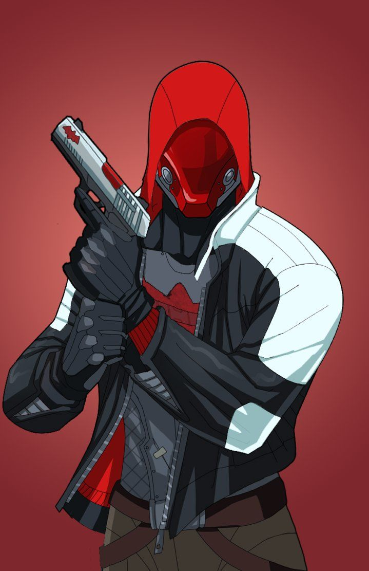 Red Hood 2.0 (Arkham Knight) by DannyK999