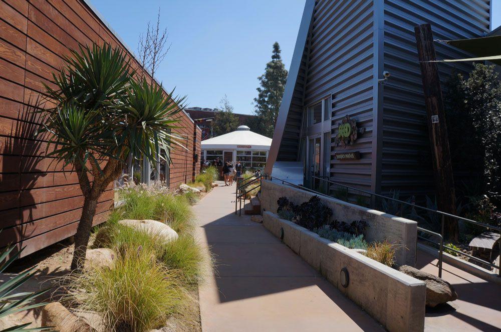 The CAMP Shopping Center In Costa Mesa